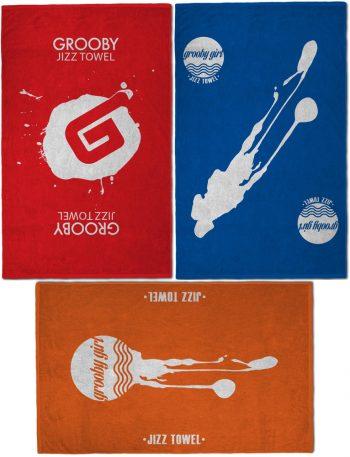 Grooby Jizz Towel 3-Pack
